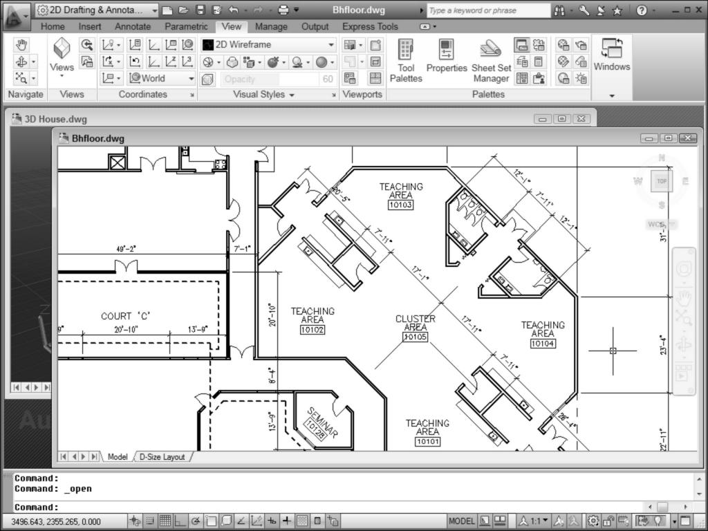 CAD 2D Design
